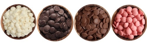 Polevy, čokolády, glazura