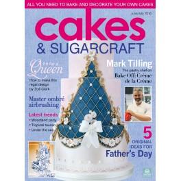 Cakes & Sugarcraft Magazine June/July 2016