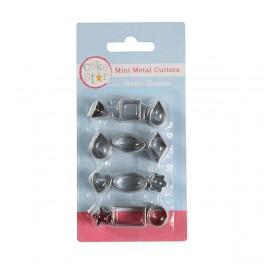 Mini kovové vykrajovačky