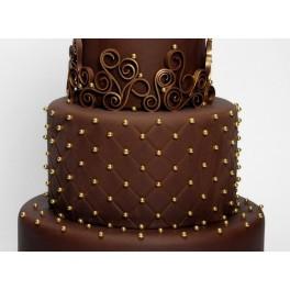 Pasta dama čokoláda 42% 1Kg - potahovací hmota