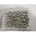 Cukrové pecičky stříbrné malé 8 mm 50g