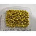 Cukrové pecičky zlaté malé 8 mm 50g