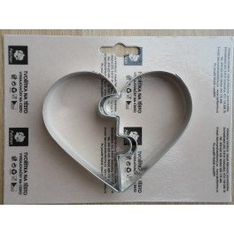 Valentýnské srdce vykrajovačka 2ks