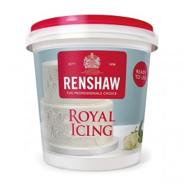 Renshaw Royal Icing hotový - bílý - 400g