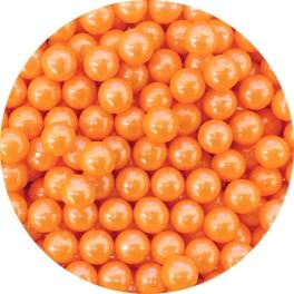 Cukrové perly oranžové 7 mm 50g