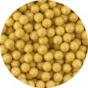 Cukrové perly zlaté 7 mm 50g