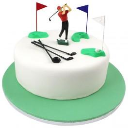 Postavička Golfista a pomůcky 13 ks