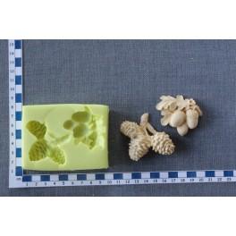 Lesní plody 3D - silikonová forma