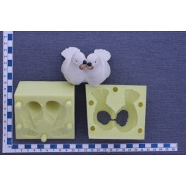 Holubice 3D - OB silikonová forma