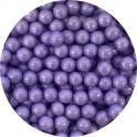 Cukrové perly fialové 7 mm 50g
