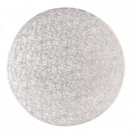 Kulatá podložka stříbrná 330mm/1,75mm