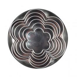 Kytičky - sada kovových vykrajovaček 6ks