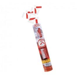 Vystřelovací konfety červeno - bílé