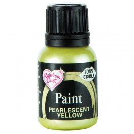 Pearlescent Yellow - tekutá barva 03/2020