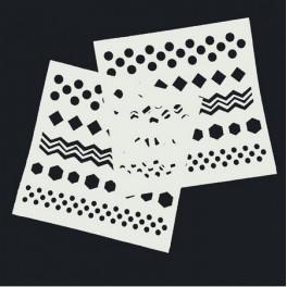 Stencil šablona - 32