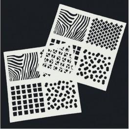 Stencil šablona - 27