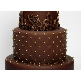Pasta Dama čokoláda 42% 250g - potahovací hmota