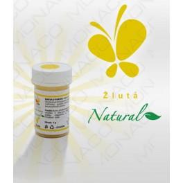 Barva v prášku Natural Line přírodní (žlutá)