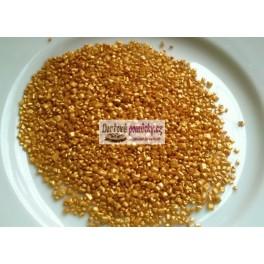 Cukrové krystalky (zlaté perleťové) 100g